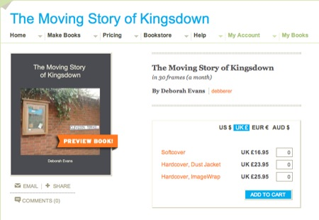 The Moving Story of Kingsdown Book